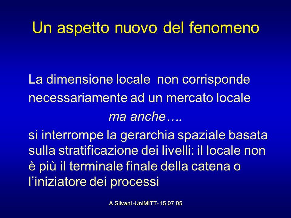 A.Silvani -UniMITT- 15.07.05 Il modello europeo….