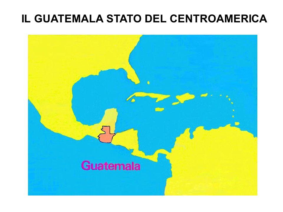 IL GUATEMALA STATO DEL CENTROAMERICA