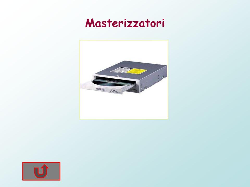 Masterizzatori Dispositivi che permettono la scrittura e/o riscrittura di informarmazioni su cd e dvd. Al giorno doggi questi dispositivi hanno raggiu