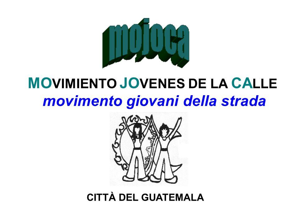 MO VIMIENTO JO VENES DE LA CA LLE movimento giovani della strada CITTÀ DEL GUATEMALA
