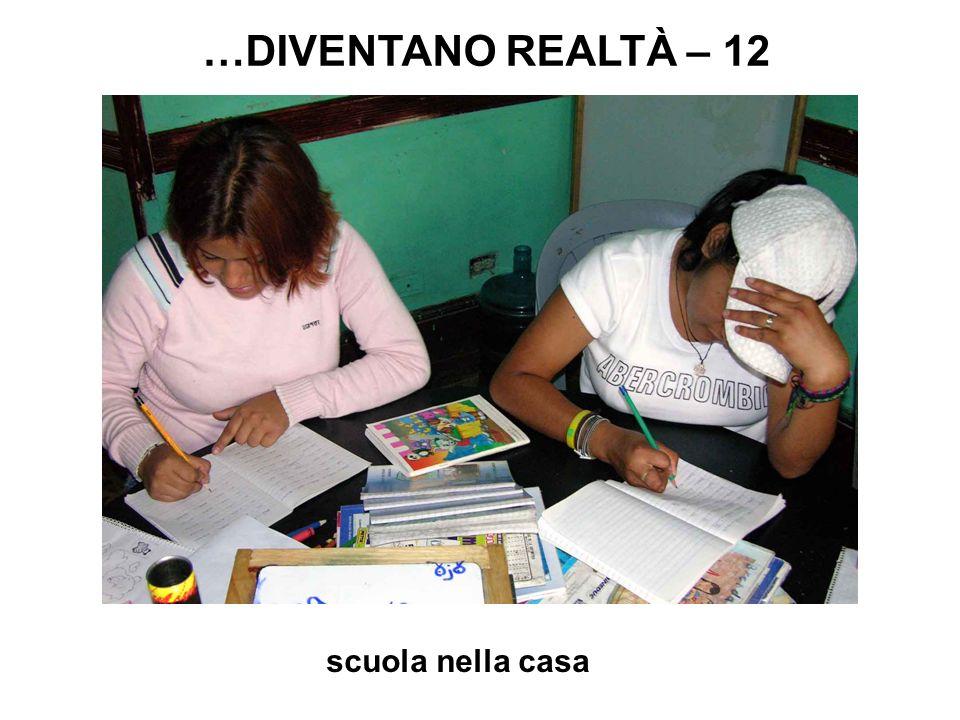 scuola nella casa …DIVENTANO REALTÀ – 12