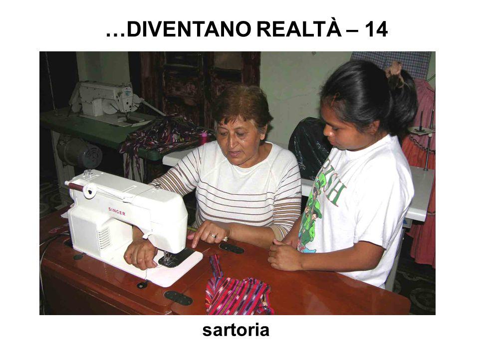 sartoria …DIVENTANO REALTÀ – 14