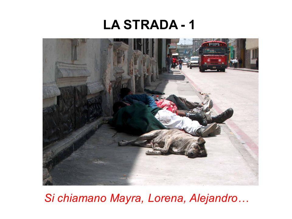 Si chiamano Mayra, Lorena, Alejandro… LA STRADA - 1