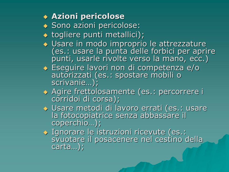 ULTERIORI FONTI DI RISCHIO SERVIZI (da art.36 a art.