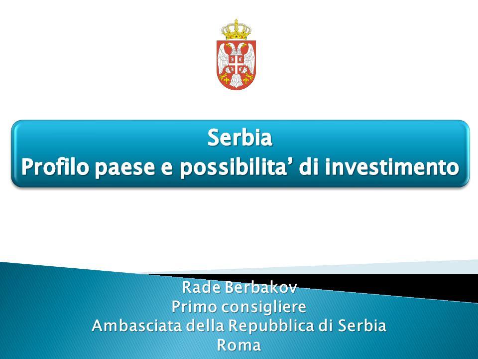 Rade Berbakov Primo consigliere Ambasciata della Repubblica di Serbia Roma