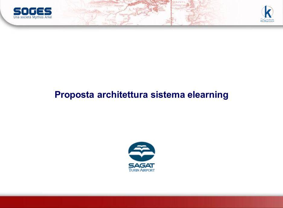 Proposta architettura sistema elearning
