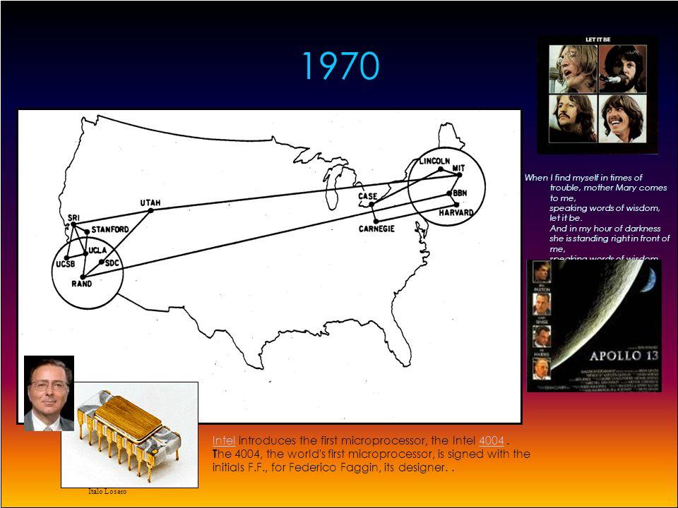 Italo Losero Triple Network System lesperimento del 1977