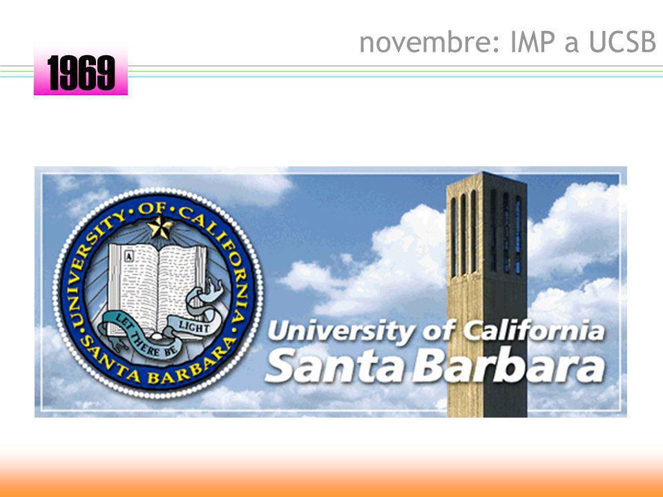 ottobre: IMP a SRI 1969