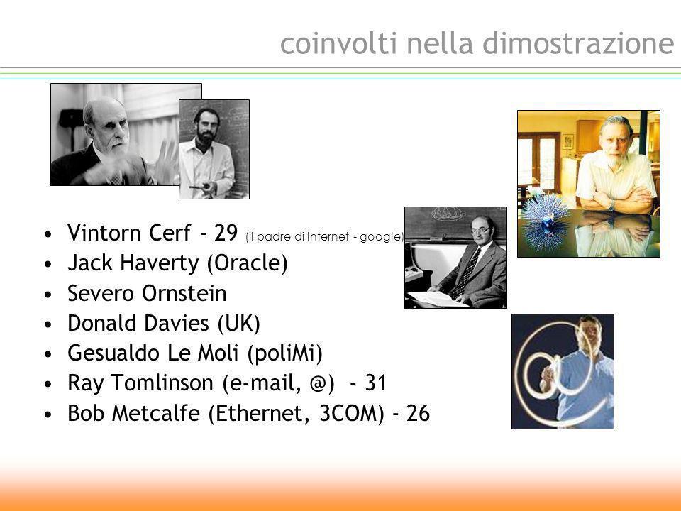 Conference of Computer Comunication ottobre 1972 Washington Hilton Hotel primo utilizzo della parola Internet