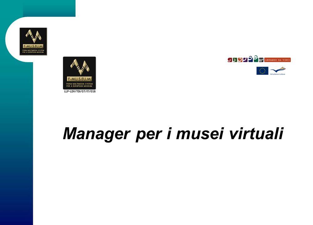 DU 3 Le risorse umane per il museo virtuale Una parte importante della definizione delle competenze necessarie per la costruzione di un museo virtuale è lidentificazione delle funzioni necessarie da parte dello staff.