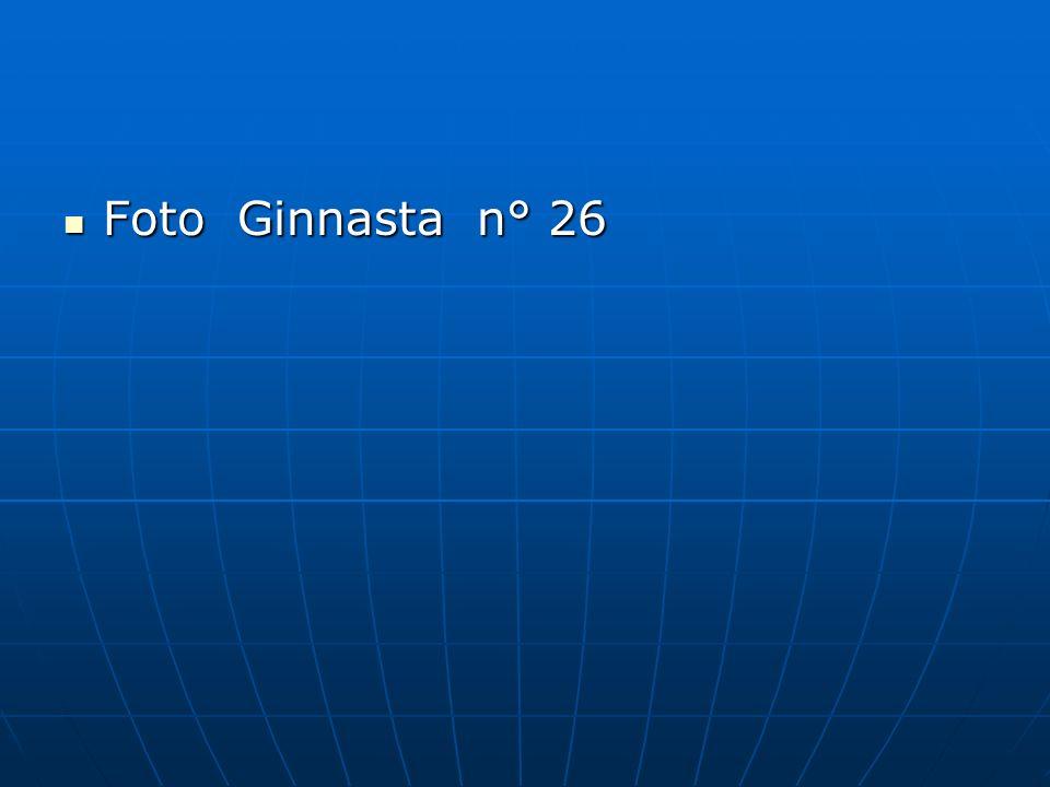 Foto Ginnasta n° 26 Foto Ginnasta n° 26