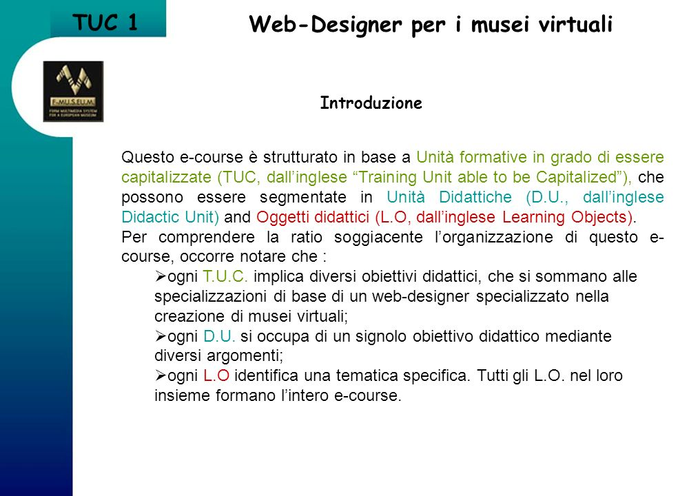 LO 2.3 Abstract ActiveX Data Object (ADO) ADO si utilizza per laccesso al database mediante pagina WEB.