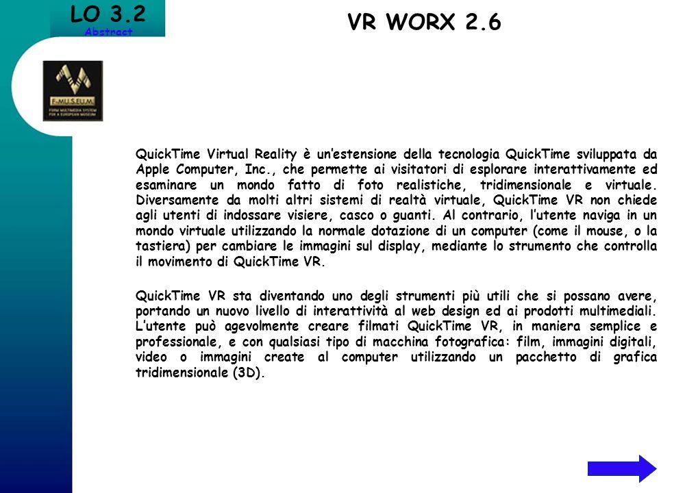 QuickTime Virtual Reality è unestensione della tecnologia QuickTime sviluppata da Apple Computer, Inc., che permette ai visitatori di esplorare intera