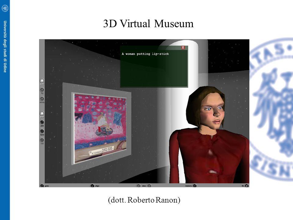 3D Virtual Museum (dott. Roberto Ranon)