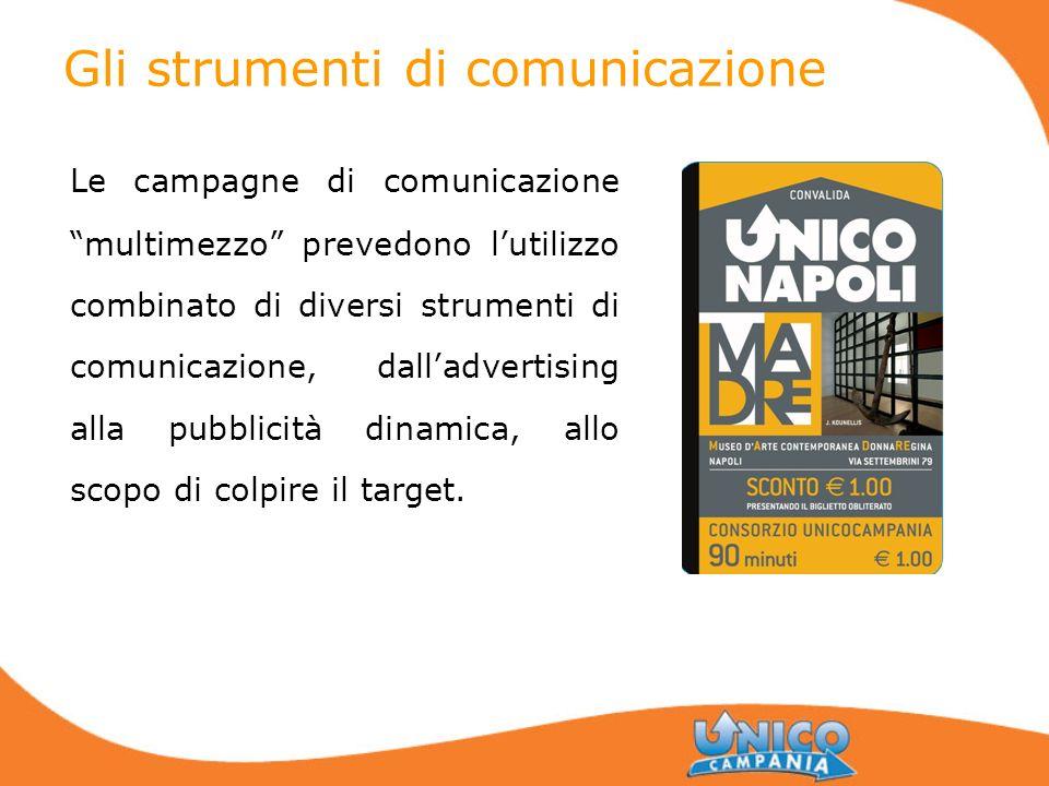 Gli strumenti di comunicazione Le campagne di comunicazione multimezzo prevedono lutilizzo combinato di diversi strumenti di comunicazione, dalladvert