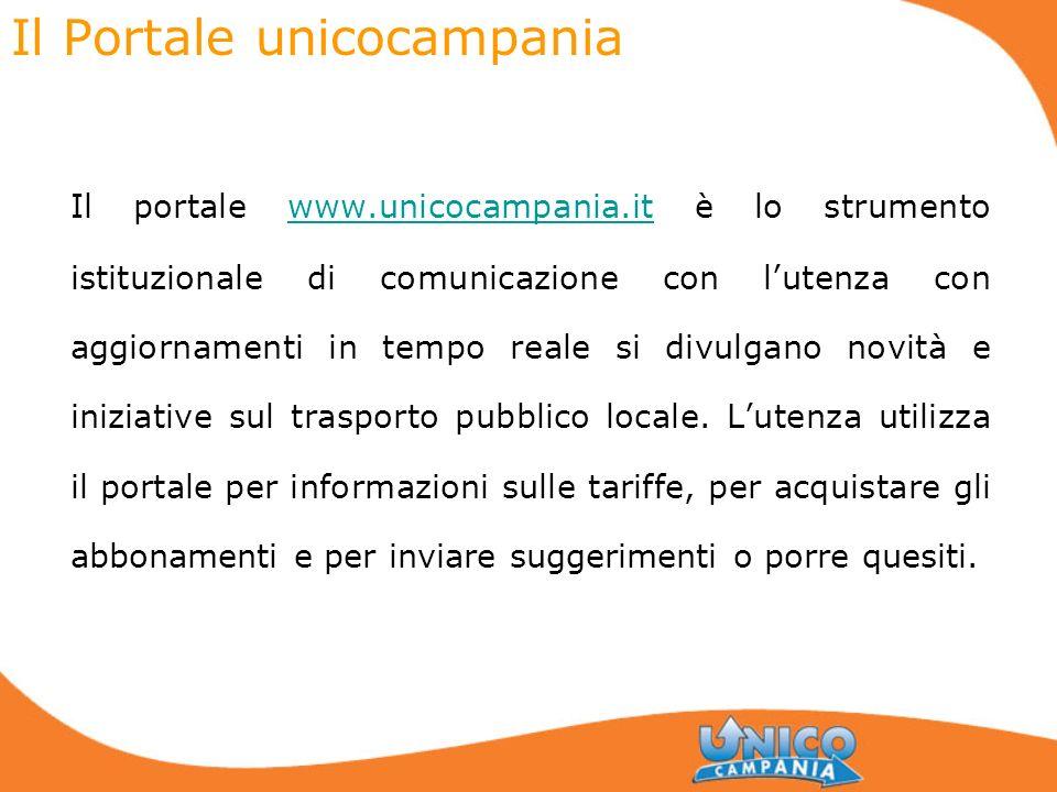 Il Portale unicocampania Il portale www.unicocampania.it è lo strumento istituzionale di comunicazione con lutenza con aggiornamenti in tempo reale si