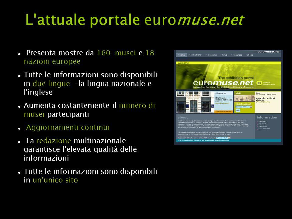 euromuse.net per gli operatori turistici