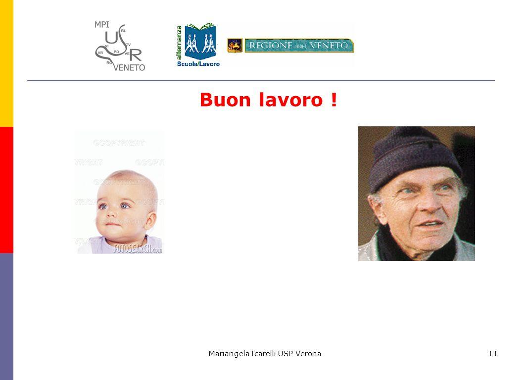 Mariangela Icarelli USP Verona11 Buon lavoro !