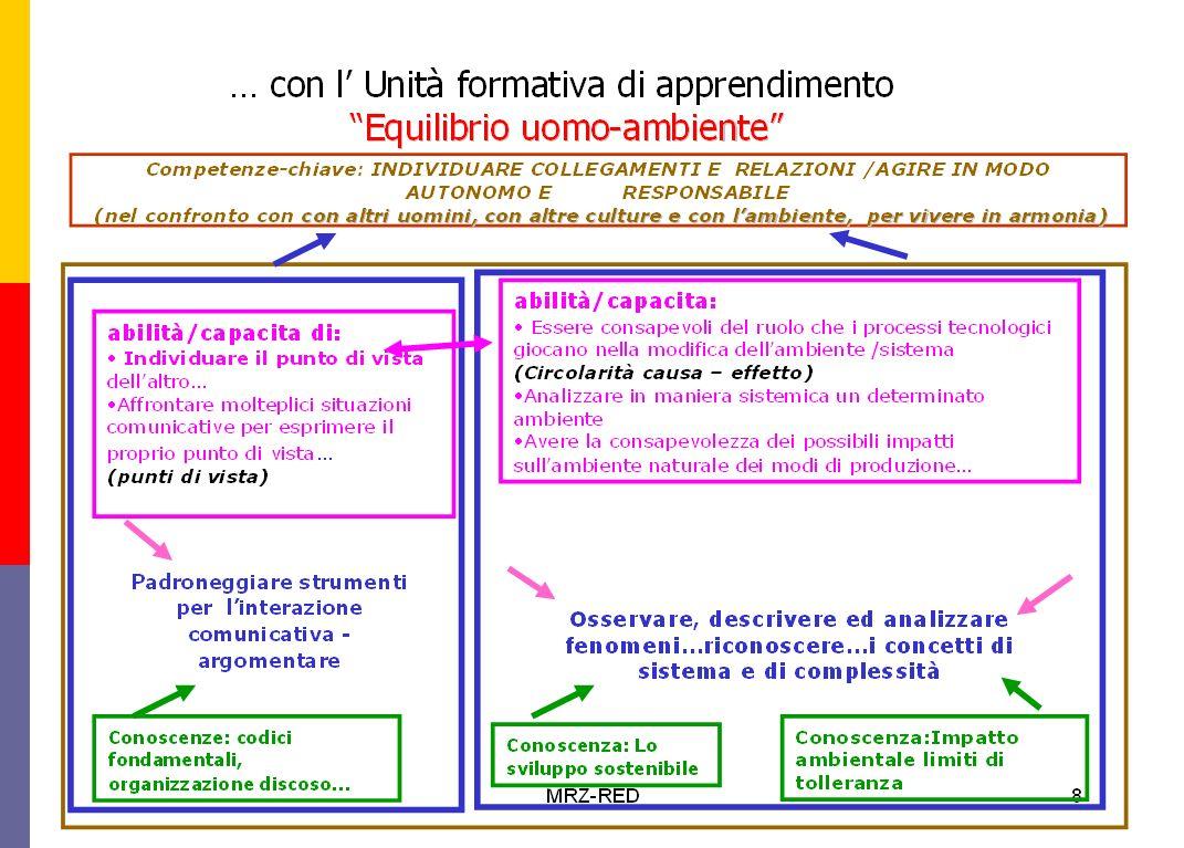 Mariangela Icarelli USP Verona18 COMPETENZE CHIAVE DI RIFERIMENTO : individuare collegamenti e relazioni; agire in modo responsabile