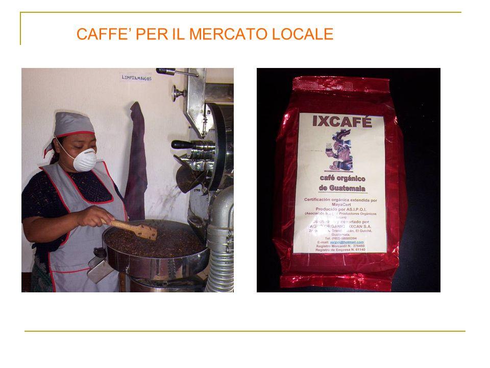 CAFFE PER IL MERCATO LOCALE
