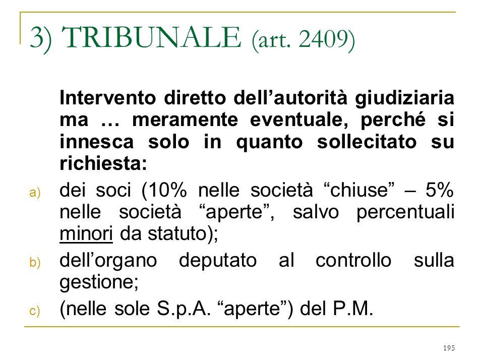 195 3) TRIBUNALE (art.