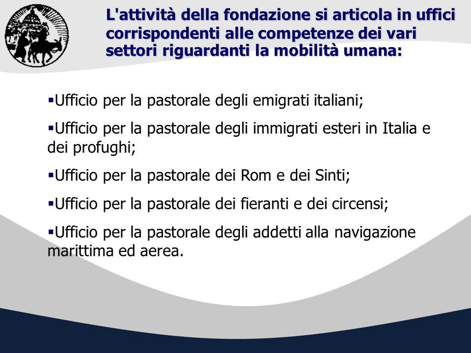 Ufficio per la pastorale degli emigrati italiani Lemigrazione non è un fatto puntuale o transitorio, bensì una lunga storia, un processo sociale, politico, culturale e religioso.