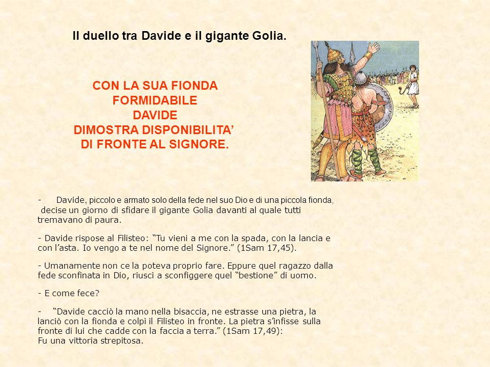 Re Davide fu autore di bellissime preghiere che compose durante la sua vita e che cantava accompagnandosi con la cetra.