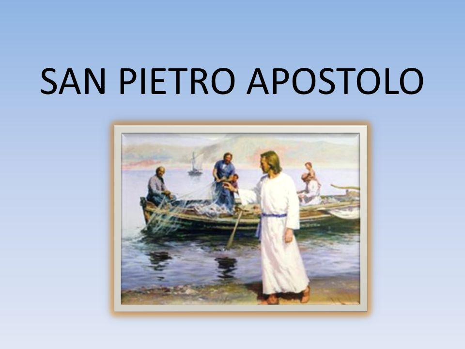 3. EPPURE GESÙ SCEGLIE PIETRO COME CAPO DELLA CHIESA