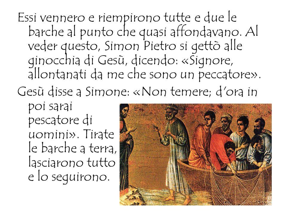 -PIETRO DIVENTA SEGNO DELLUNITÀ TRA GLI AMICI DI GESÙ LAMORE di Gesù vince la paura e il dubbio di Pietro ed entra per sempre nel suo cuore.