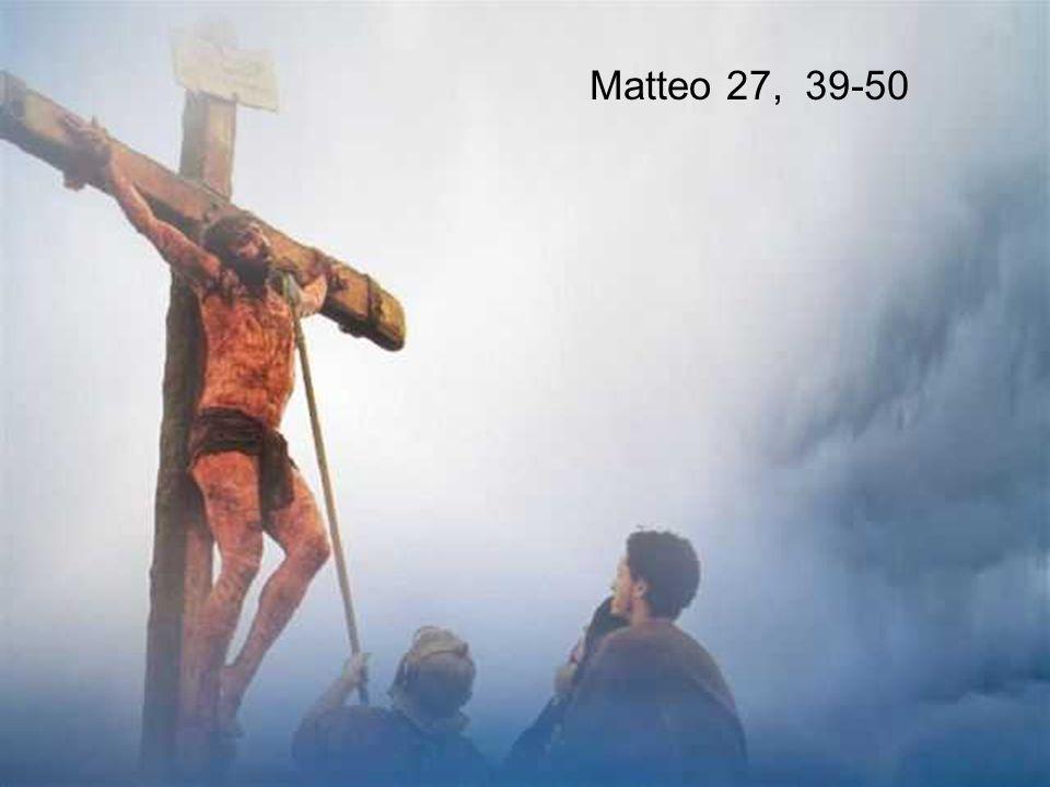 Matteo 27, 39-50