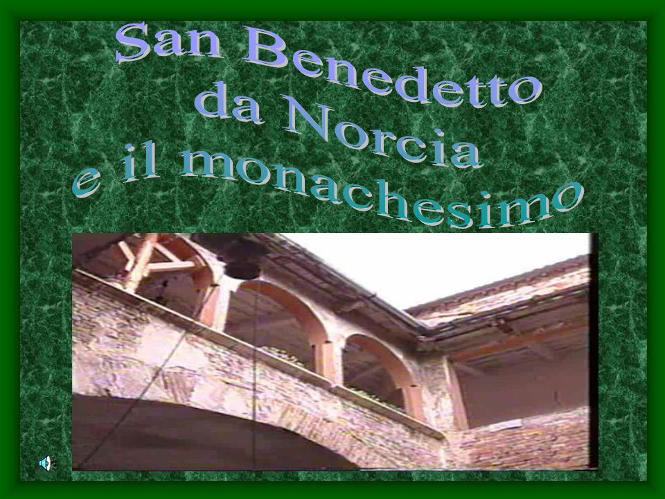 Benedetto decise di ritirarsi in luogo solitario… chiamato Subiaco, si nascose in una grotta, per servire e amare Dio solo…