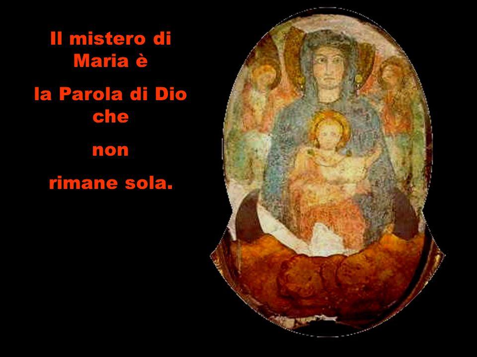 Maria può aiutare, partendo dal cuore, a ritrovare, nel mezzo, lunità.
