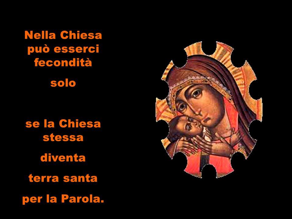 Così, in questo sì, la volontà di Maria coincide con la volontà del Figlio.