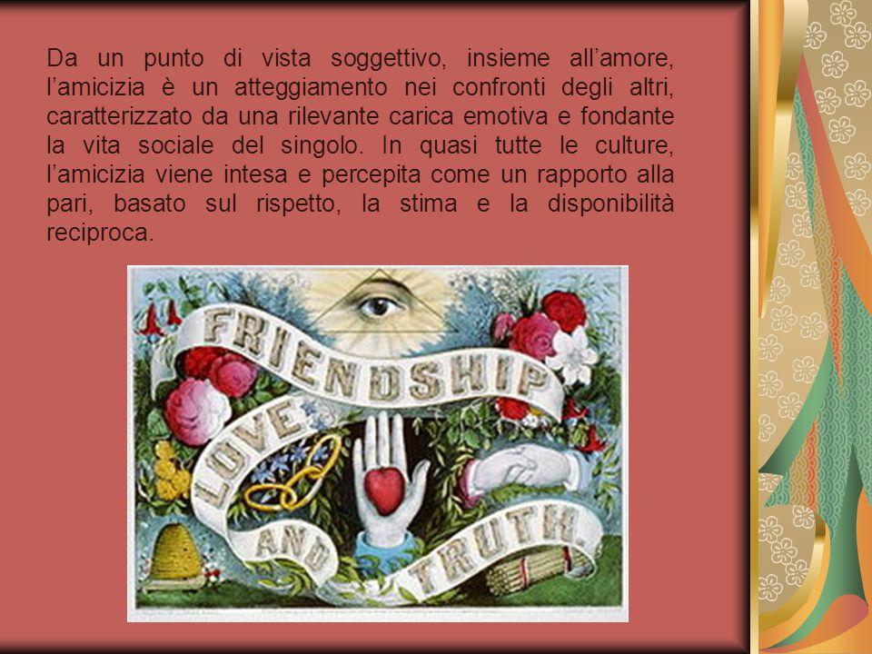 Aelredo diversamente dalla riserva mostrata in questo campo dai Padri e autori monastici, considerava lamicizia una virtù cristiana, una forma di carità, attraverso la quale la persona partecipa alla vita di Dio Trinità.