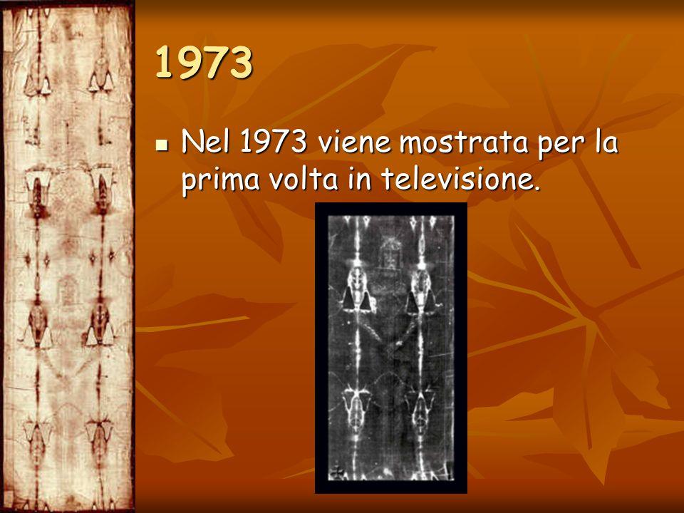 Nel 1973 viene mostrata per la prima volta in televisione. Nel 1973 viene mostrata per la prima volta in televisione. 1973
