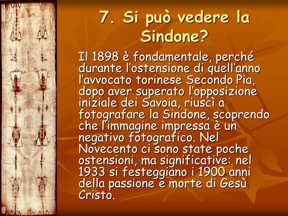 Il 1898 è fondamentale, perché durante lostensione di quellanno lavvocato torinese Secondo Pia, dopo aver superato lopposizione iniziale dei Savoia, r
