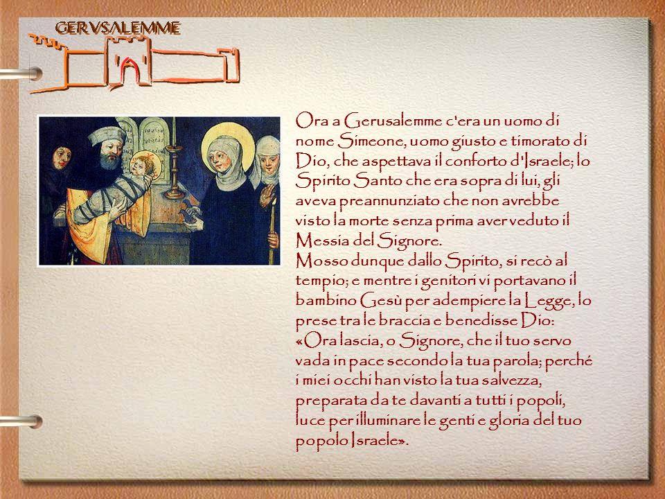 Gerusalemme Dal Vangelo secondo Luca 2,41-50