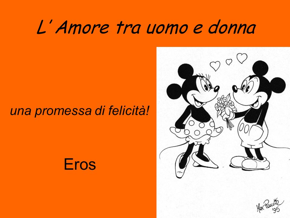 L Amore tra uomo e donna una promessa di felicità! Eros