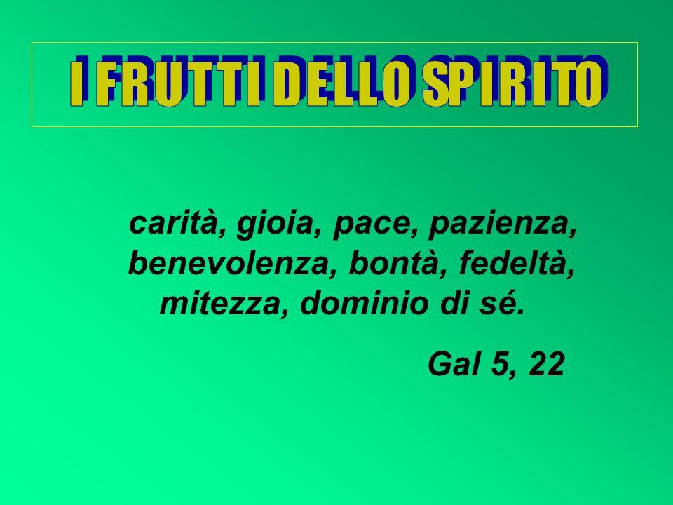 I SETTE D O N I D E L L O S P I R I T O S A N T O Un germoglio spunterà dal tronco di Iesse, su di lui si poserà lo spirito del Signore, spirito di sa