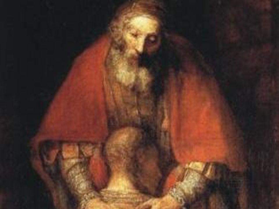 Il PADRE vuole perdonare anche te come il figliuol prodigo Con la confessione ricevi il perdono e labbraccio del PADRE