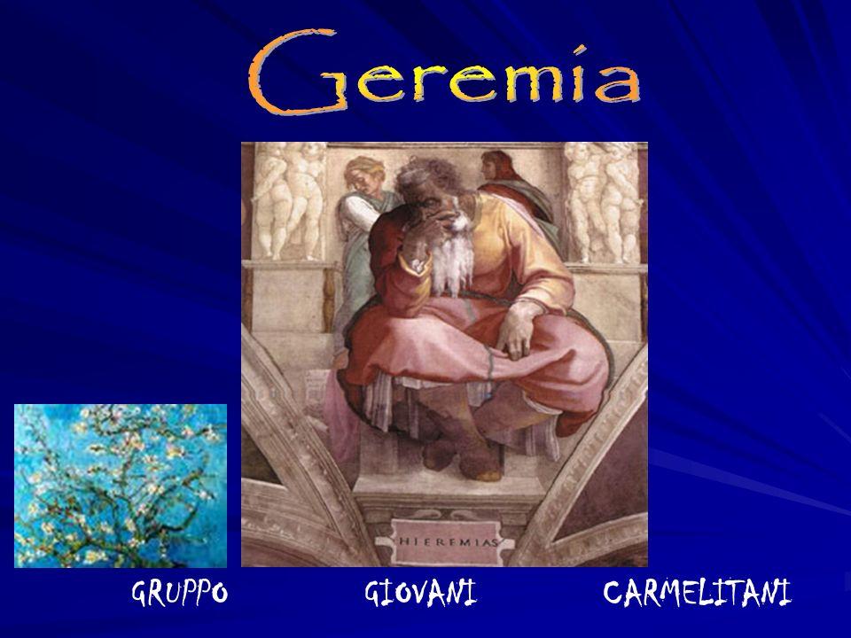 Se prima il giovane Geremia si vedeva un pocome il condottiero della restaurazione, colui che precede in nome di Dio un popolo nuovo, ora si rende conto che le cose non vanno e non andranno così.