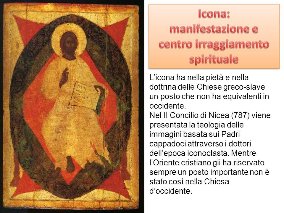 Licona ha nella pietà e nella dottrina delle Chiese greco-slave un posto che non ha equivalenti in occidente. Nel II Concilio di Nicea (787) viene pre