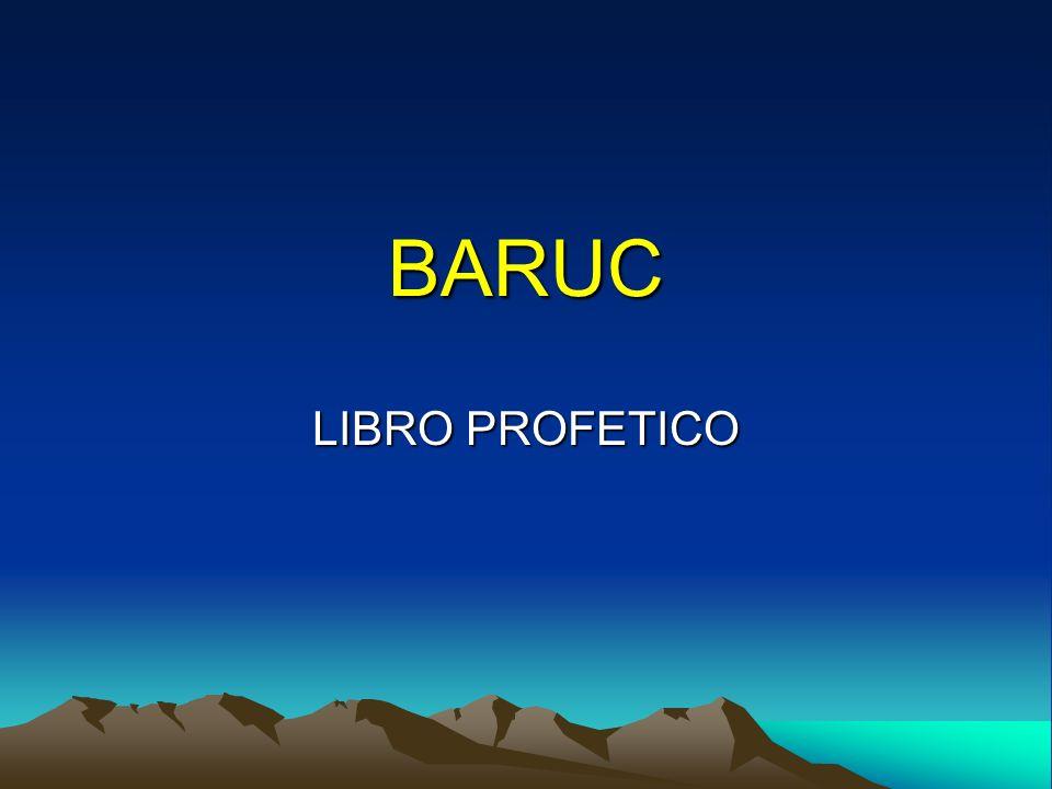 BARUC LIBRO PROFETICO