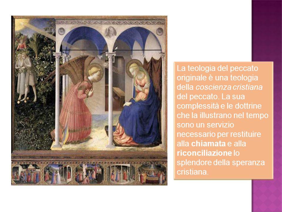 La teologia del peccato originale è una teologia della coscienza cristiana del peccato. La sua complessità e le dottrine che la illustrano nel tempo s