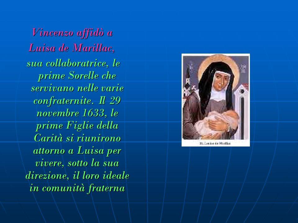 Fin dalle origini, San Vincenzo e Santa Luisa, rispondendo agli appelli del loro tempo, inviarono le Figlie della Carità ai poveri..