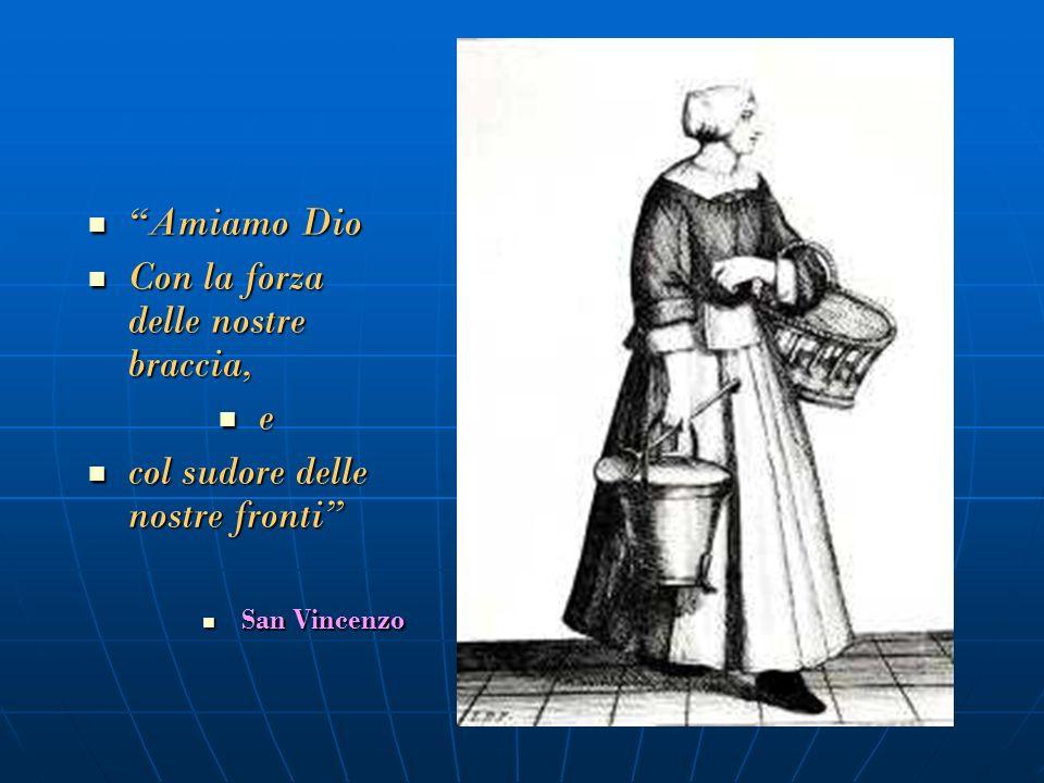 San Vincenzo De Paoli consegna il primo regolamento a S. Luisa