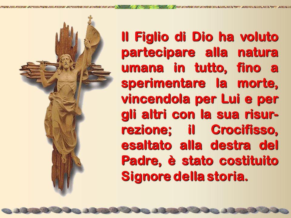 Santo, santo, santo È la triplice acclamazione della santità di Dio (Is 6,3) che controlla la storia.