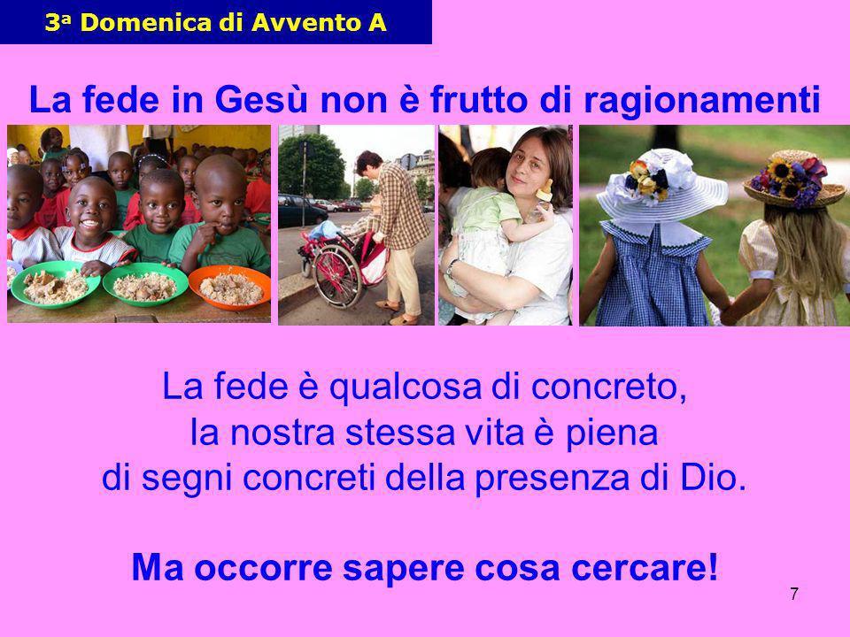 8 3 a Domenica di Avvento A Gesù non usa EFFETTI SPECIALI GESU nasce in una stalla.