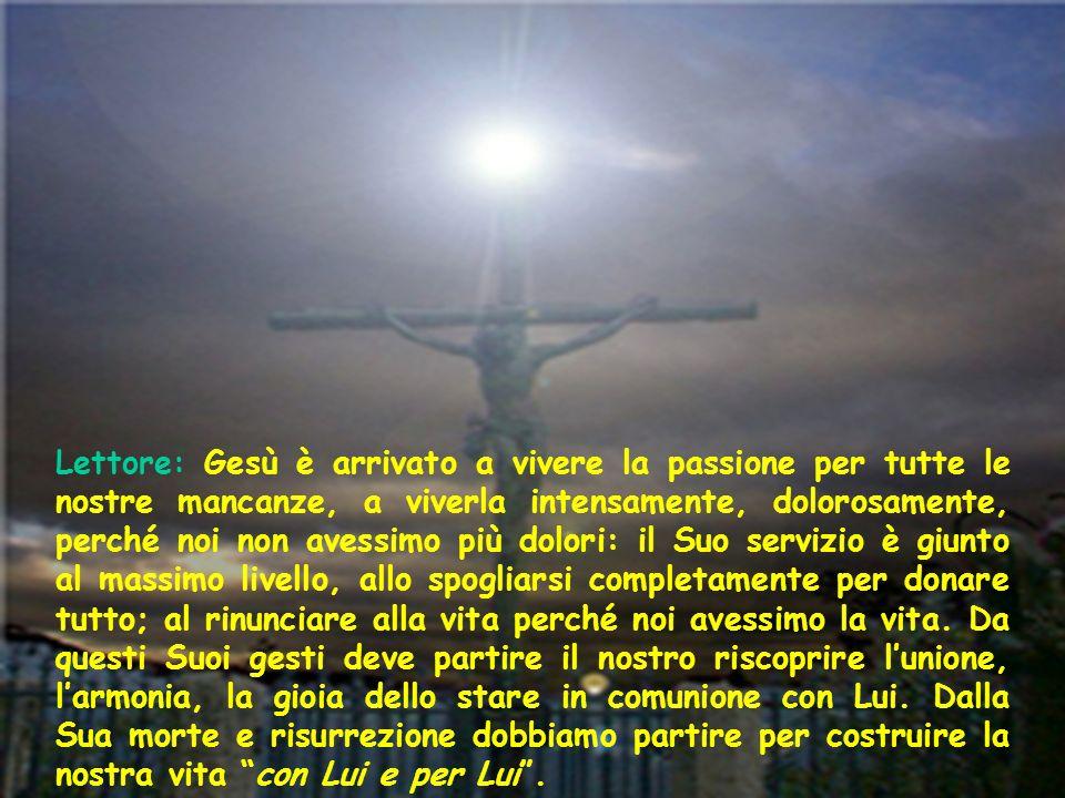 Richiesta di perdono Pietà di me, o Dio, secondo la tua misericordia; nella tua grande bontà cancella il mio peccato.