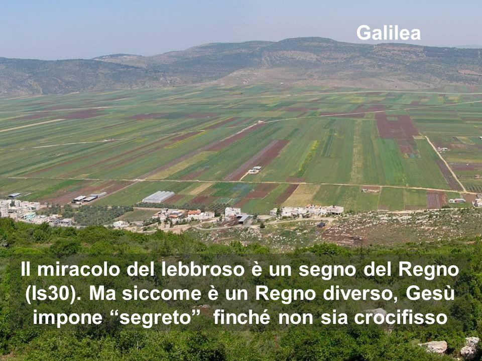 Il primo miracolo lo compie con coloro che, allora, erano i più emarginati Dopo la giornata a Cafarnao, adesso Gesù inizia il percorso nella Galilea del nostro mondo